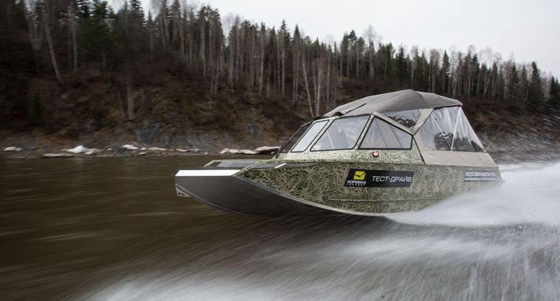 Водометные катера для мелководья