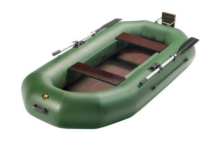 Большая надувная лодка