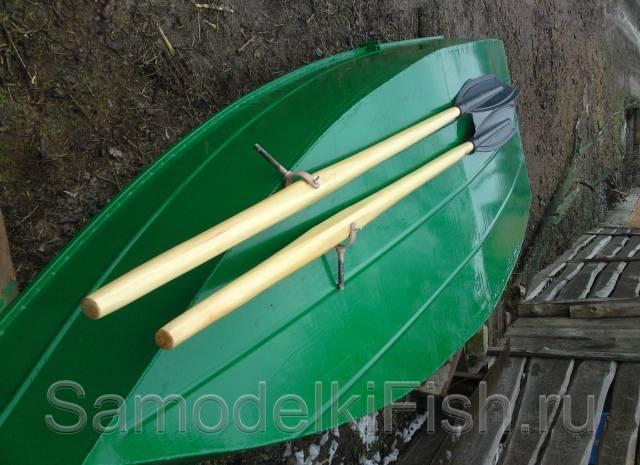 Как сделать весла для лодки своими руками