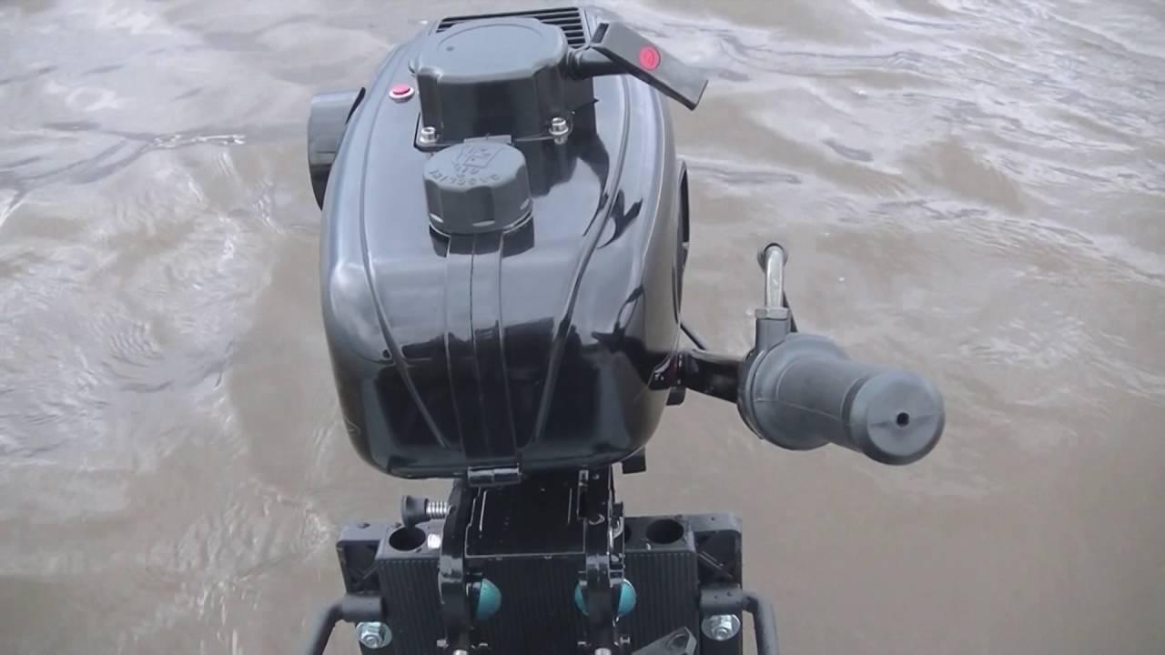 Как обкатать лодочный мотор