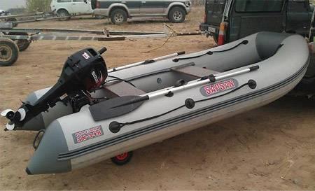 Лодка сапсан 340