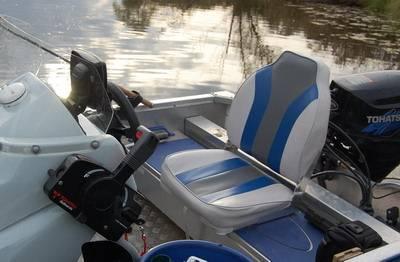 Сидение со спинкой для лодки пвх