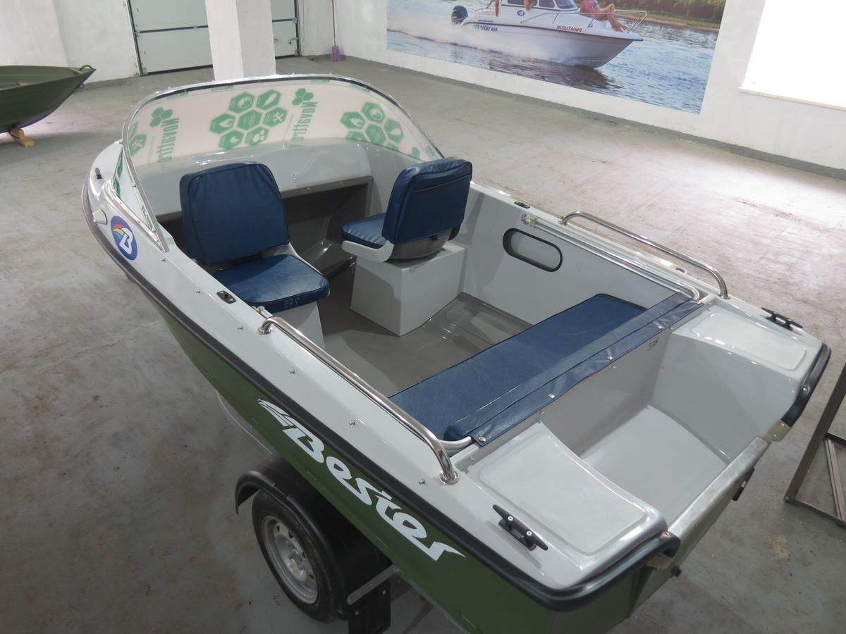Лодка бестер 400