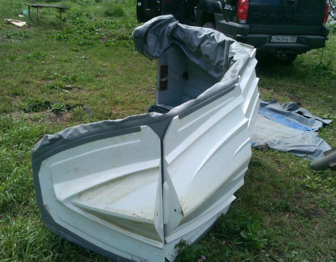 Лодка пвх с пластиковым дном риб