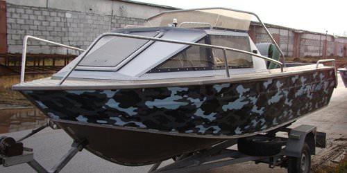 Моторные лодки российского производства