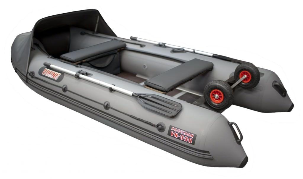 Трехместная лодка пвх