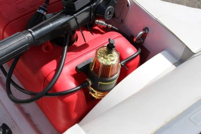 Топливный кран для лодочного мотора