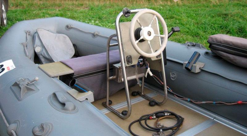 Руль на лодку пвх