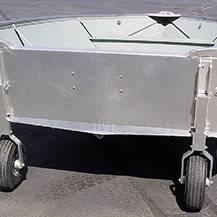 Как выбрать транцевые колеса для вашей лодки ПВХ