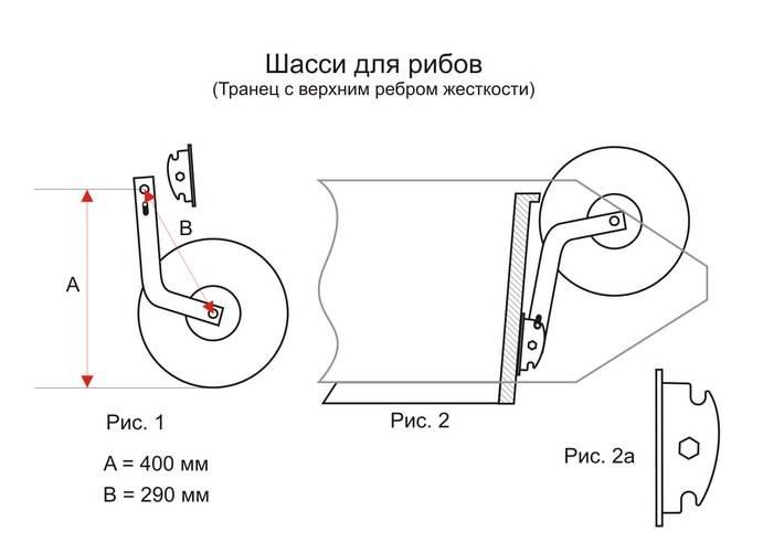 Чертеж транцевых колес
