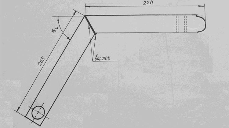 Схема устройства изделия